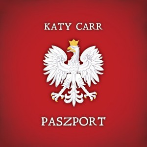 paszport album cover by Katy Carr