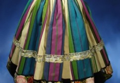 Antique Polish Folk Skirt